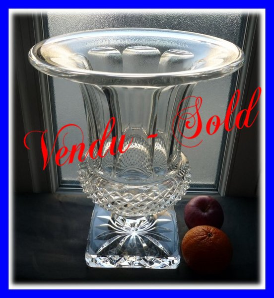 Cristal Saint Louis Grand Vase Medicis Versailles