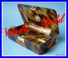 TORTOISESHELL BOX ENGLISH STERLING SILVER