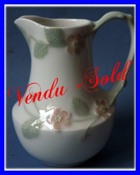 Louis Lourioux Foecy Art Nouveau Pate Sur Pate Porcelain Jug