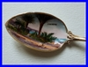 ENAMELED STERLING SILVER SPOON 1900 SAN REMO