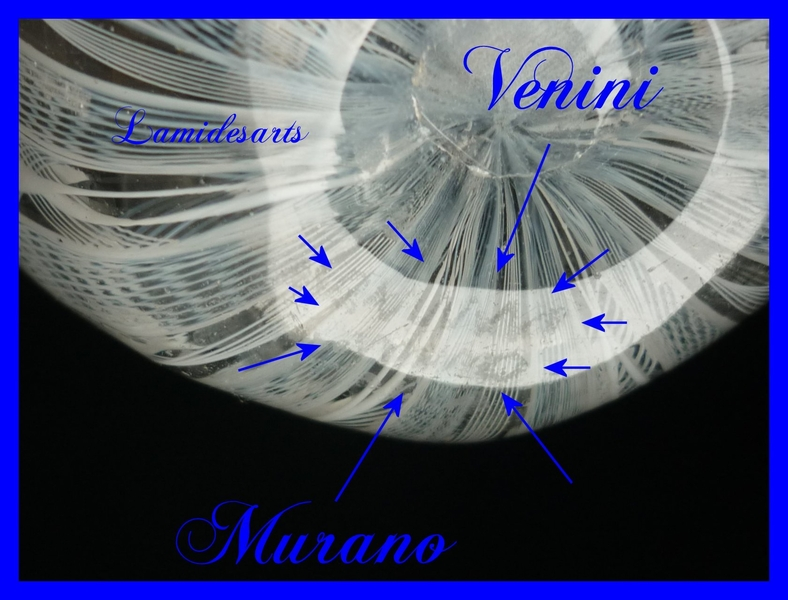 Handkerchief Vase Venini Glass Murano 1950
