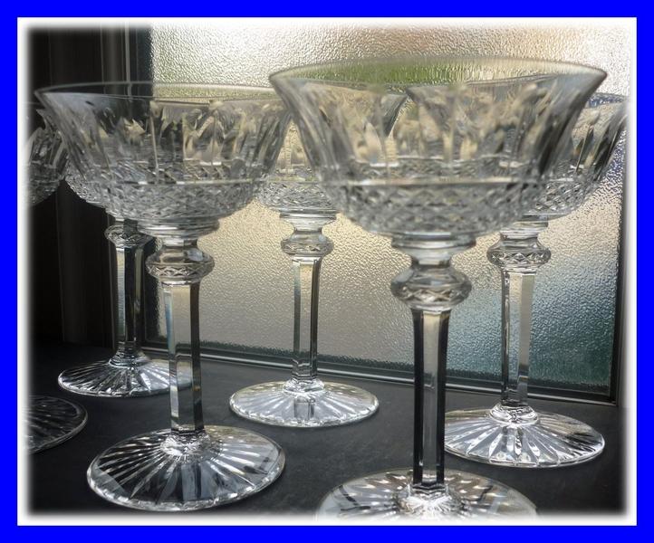 6 coupe a vin de champagne cristal saint louis tommy. Black Bedroom Furniture Sets. Home Design Ideas