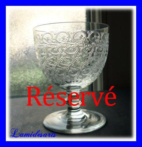 Verre en cristal de baccarat modele rohan porto 7 4 cm for A bon verre bonne table