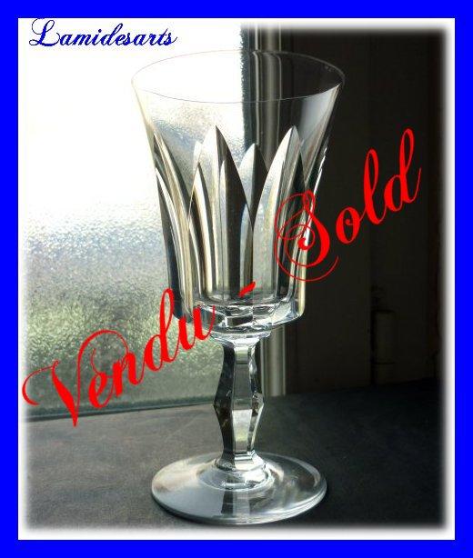 verre en cristal de baccarat polignac service des rois reine elisabeth ii 1957 14 5 cm. Black Bedroom Furniture Sets. Home Design Ideas