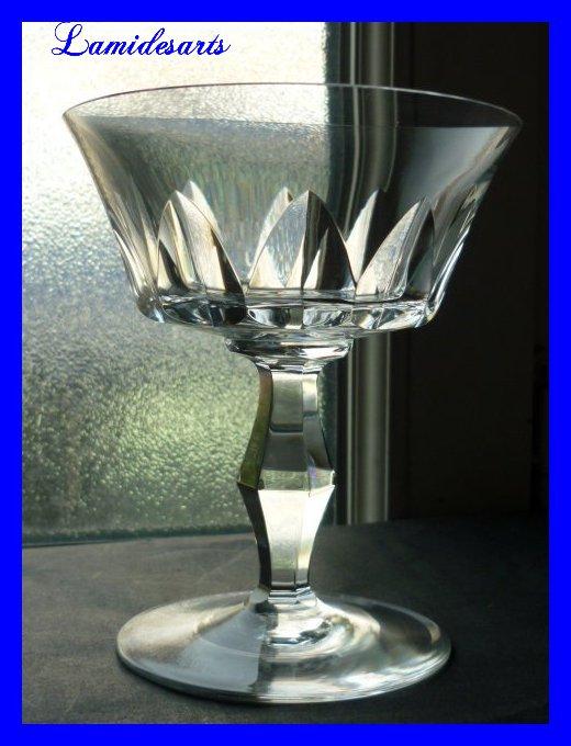 champagnerglas kristall baccarat polignac 1957 stock 0. Black Bedroom Furniture Sets. Home Design Ideas