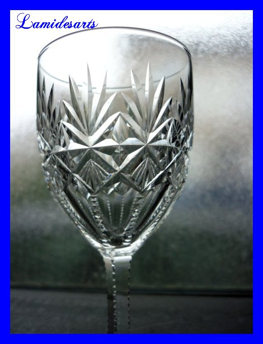 Cristal De Saint Louis Verre Cristal Taille 1880 Modele