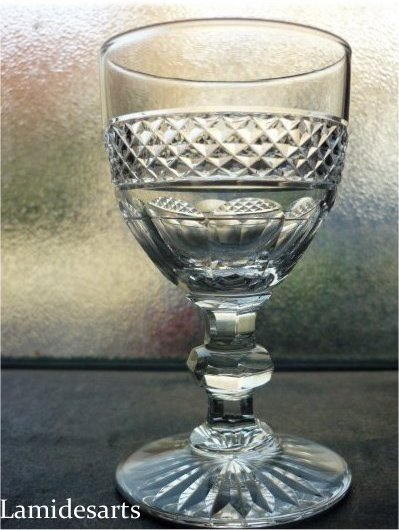 cristal de saint louis trianon verre a porto 9 8 cm stock 27. Black Bedroom Furniture Sets. Home Design Ideas