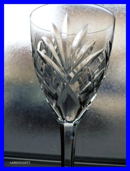 Saint Louis Chantilly 6 Verres Cristal Taille 14 Cm Stock