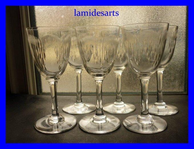 6 bicchieri di cristallo baccarat moliere 1916 stock 4 x 6 for Bicchieri cristallo