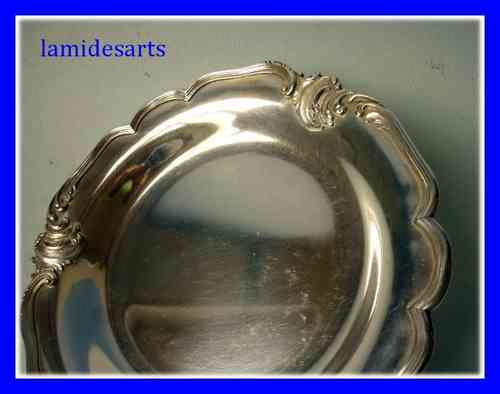CARDEILHAC PARIS SILVER PLATED BOTTLE HOLDER COASTER stock: 1