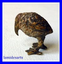 Cold Painted Vienna Bronze Bird 1880