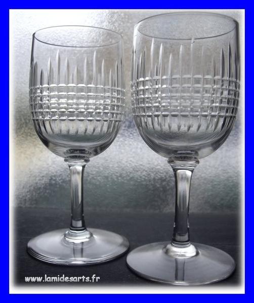 verre cristal baccarat nancy