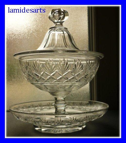 pokal aus baccarat kristall 1850 1900. Black Bedroom Furniture Sets. Home Design Ideas