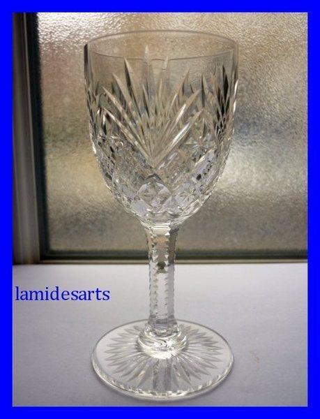 Verre Cristal De Saint Louis Gavarni Taille 4878 Hauteur
