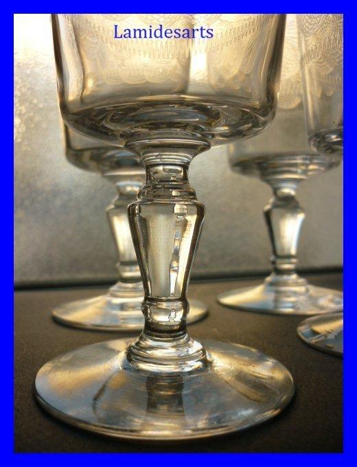 6 baccarat kristall gl ser f r wasser 1900. Black Bedroom Furniture Sets. Home Design Ideas