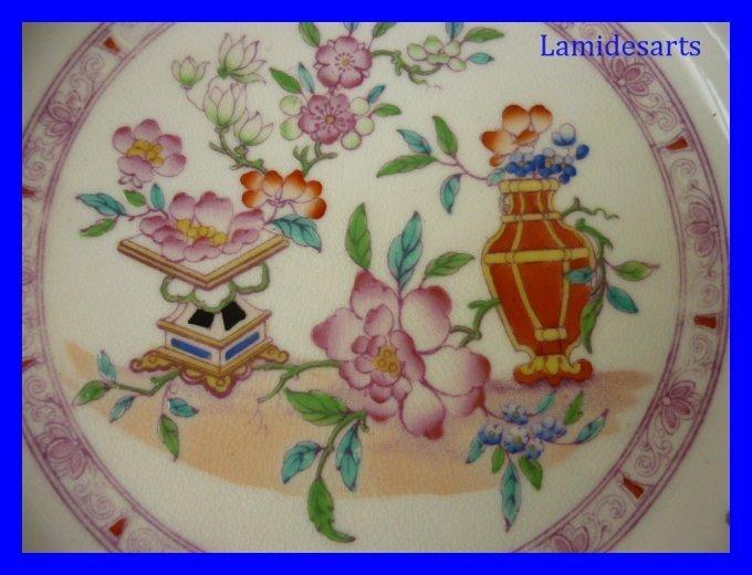 assiette porcelaine de minton mobilier chinois 5694. Black Bedroom Furniture Sets. Home Design Ideas