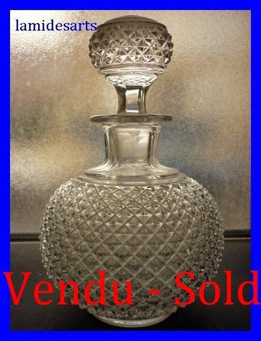baccarat kristall flaschen 1880. Black Bedroom Furniture Sets. Home Design Ideas
