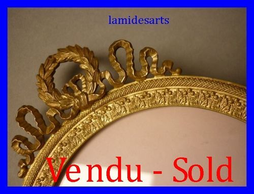 ANTIQUE GILT BRONZE FRAME 1880