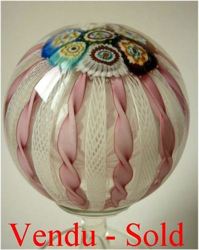Big Footed Murano Glass Paperweight 1970's