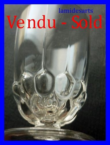 RENE LALIQUE BLOIS PORT SHERRY GLASS BLOIS 1930  stock: 0