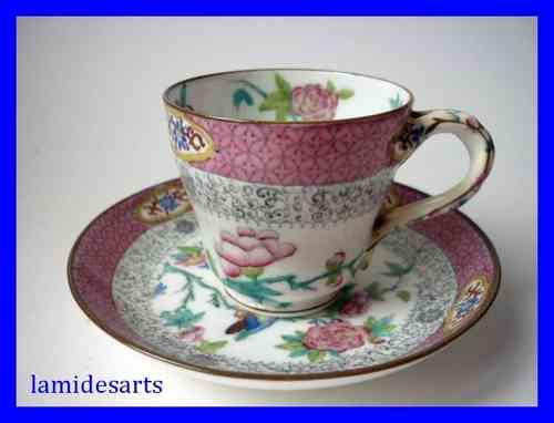 MINTON porcelain cup and saucer n° 3224