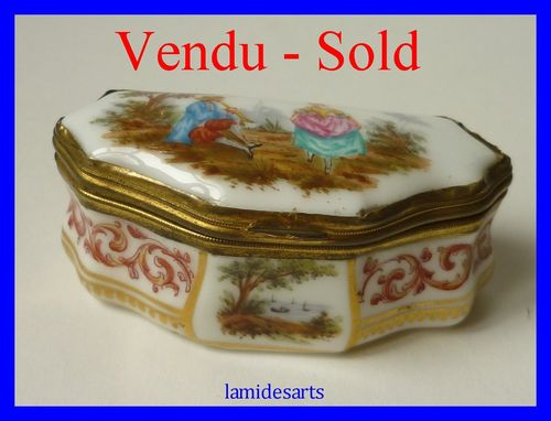 Samson Paris porcelain box 1880 - 1900