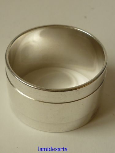CHRISTOFLE silver plated NAPKIN RING