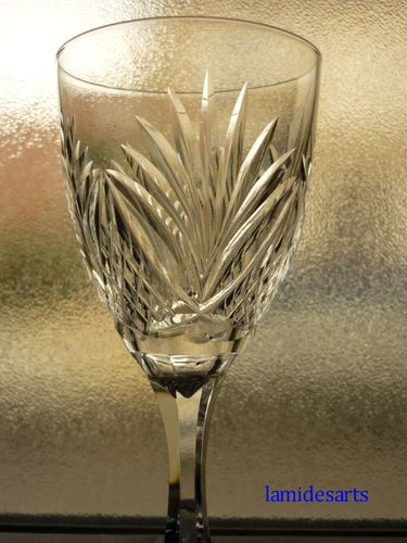 SAINT LOUIS MOSELLE CRYSTAL GLASS  17,8 cm       stock: 7