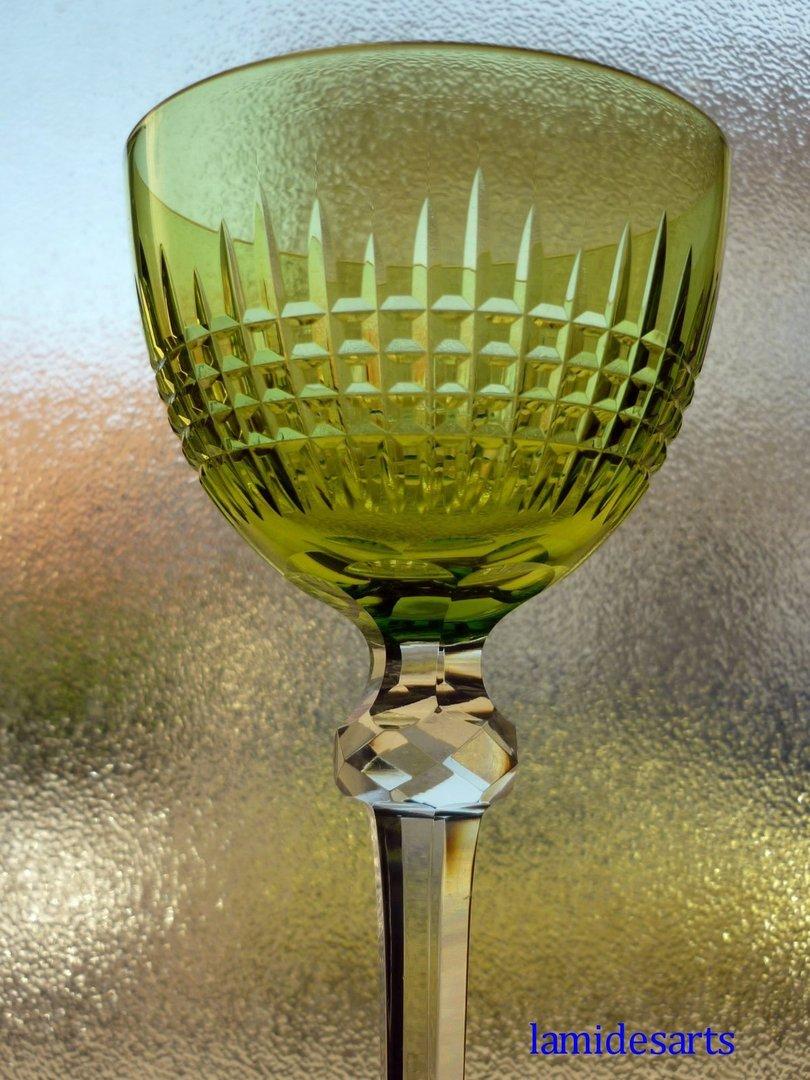 cristal baccarat dombasles verre a vin du rhin roemer stock 2. Black Bedroom Furniture Sets. Home Design Ideas
