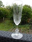 SAINT LOUIS MASSENET CRYSTAL FLUTED CHAMPAGNE GLASS  stock: 10