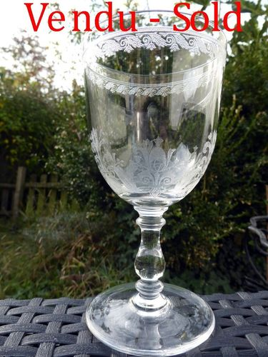 Glas aus Kristall BACCARAT CAHORS 15,5 cm       stock: 0