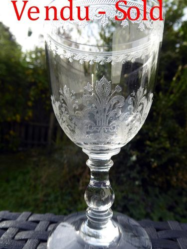 Glas aus Kristall BACCARAT CAHORS 12,2 cm       stock: 0