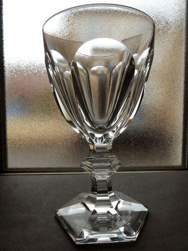 BACCARAT HARCOURT CRYSTAL WATER GLASS  15,7 cm    stock: 0