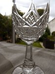BACCARAT COLBERT CRYSTAL WINE GLASS 12,8 cm    stock: 12