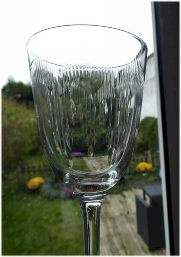 BACCARAT MOLIERE CRYSTAL  wine glass  1916  14,5 cm  stock: 5