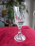 BACCARAT D'ASSAS CUT CRYSTAL WINE GLASS    stock: 3