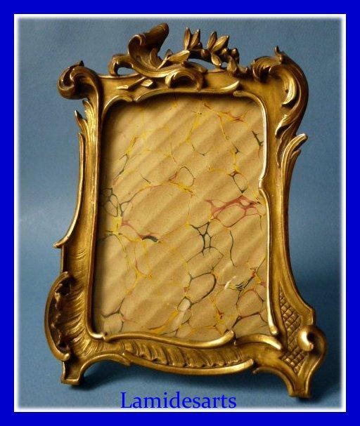 porte photo cadre bois dore napoleon iii 1850 1870. Black Bedroom Furniture Sets. Home Design Ideas