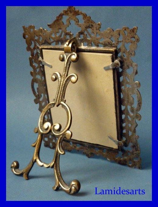 porte photo cadre bronze napoleon iii 1850. Black Bedroom Furniture Sets. Home Design Ideas