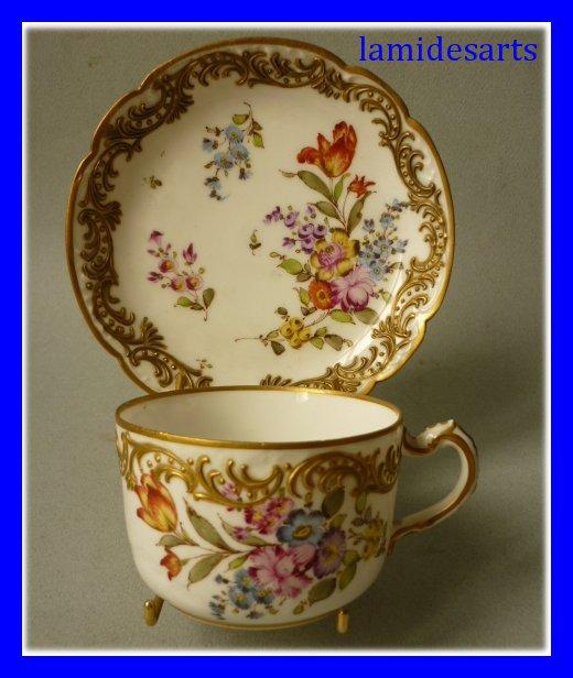 tasse a the porcelaine limoges haviland 1893 b. Black Bedroom Furniture Sets. Home Design Ideas