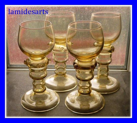 verre a vin du rhin roemer cristal de boheme 1850 1900 stock 0. Black Bedroom Furniture Sets. Home Design Ideas