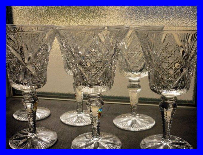 6 verres en cristal de saint louis vologne 12 5 cm - Cristal st louis ancien ...