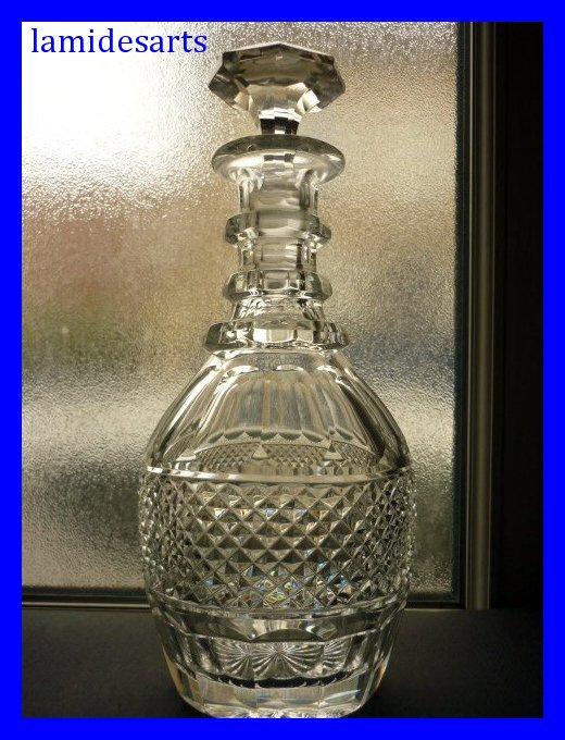 cristal de saint louis carafe en cristal taille modele trianon c. Black Bedroom Furniture Sets. Home Design Ideas