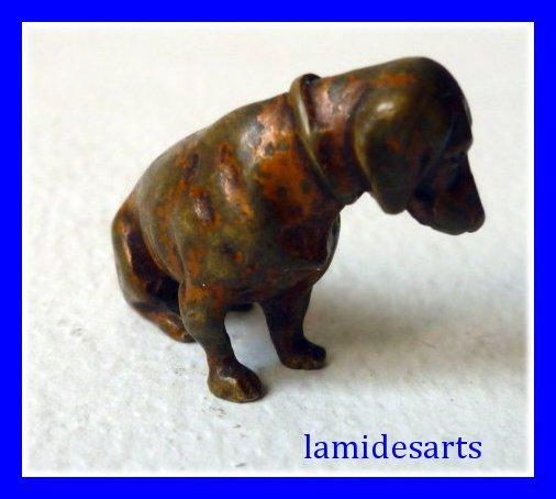 Antiquitäten & Kunst Metallobjekte Wiener Bronze Hund