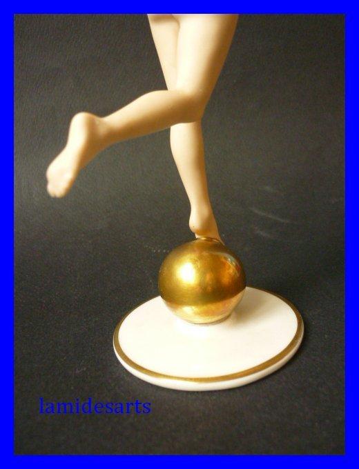 Art Deco Hutschenreuther Sun Child Nude Figurine | EBTH