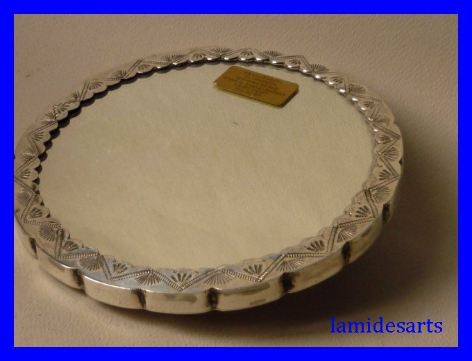 Miroir a main en argent egypte saad of egypt silversmith for Miroir egyptien