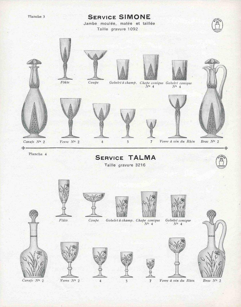 Cristal de saint louis catalogue 1930 a telecharger - Cristal st louis ancien ...