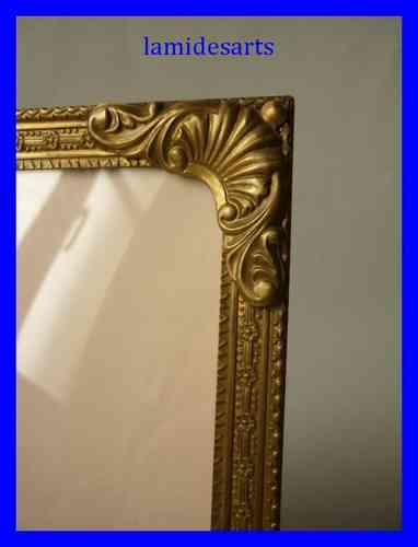 1950's GILT BRASS PICTURE FRAME b