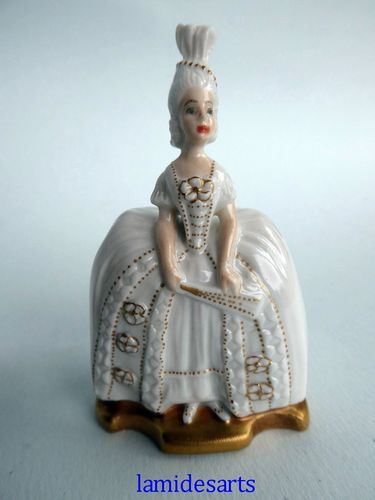 ROSENTHAL MINIATURE PORCELAIN FIGURINE The Lady